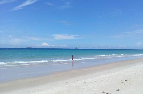 Пляж - это маленькая жизнь. Про обиды